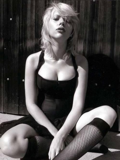 Scarlett Johansson fpr Vanity Fair