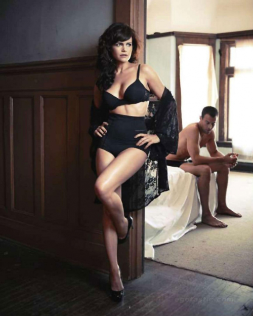 Carla Gugino for Esquire Magazine