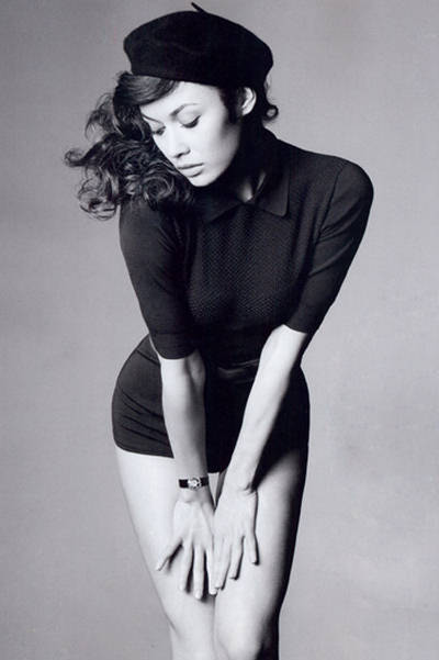 Olga Kurylenko for Instyle Magazine